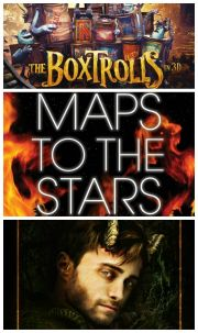 Premiere la cinema: The Boxtrolls, Maps to the Stars si Horns, filmele saptamanii in cinematografele din Romania