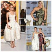 Efectul Angelina Jolie, la premiera Mockingjay - Part 1 din Los Angeles: Jennifer Lawrence a avut o aparitie perfecta. Cum au pozat pe covorul rosu starurile filmului