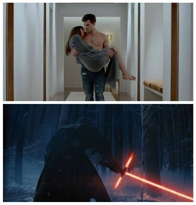 Fifty Shades of Grey si Star Wars: The Force Awakens, cele mai urmarite trailere din 2014: vezi top 20 trailere in acest an