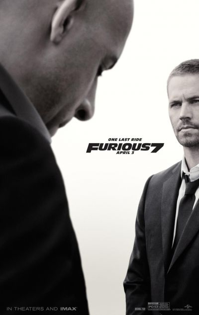 Furious 7: familia Fast and Furious isi ia adio de la Paul Walker in stil grandios