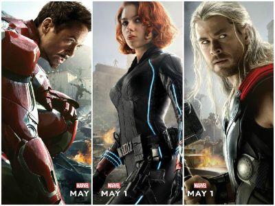 """Echipa impresionanta a celor mai cunoscuti supereroi din Universul Marvel revine in """"Razbunatorii: Sub semnul lui Ultron"""": afla secretele celui mai mare film din aceasta vara"""