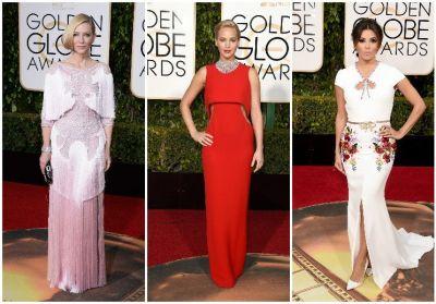Globurile de Aur 2016. Cele mai frumoase imagini de pe covorul rosu: cine sunt vedetele despre care toate lumea vorbeste