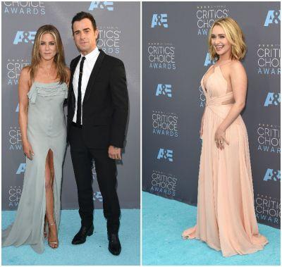 Ploaie de vedete la Gala Critics Choice Awards. Jennifer Aniston, printre starurile care au atras atentia cu tinutele lor GALERIE FOTO