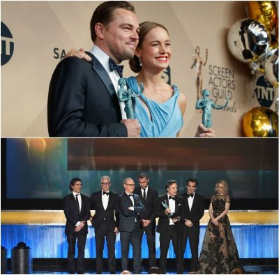 Premiie SAG.  Spotlight , declarat cel mai bun film, Leonardo DiCaprio si Brie Larson, recompensati pentru interpretare. Vezi si cele mai spectaculoase aparitii