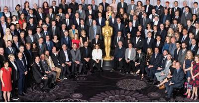 Dineul pentru nominalizatii la Oscar 2016, sub scandalul boicotului. Fotografia de grup  a fost mult prea alba