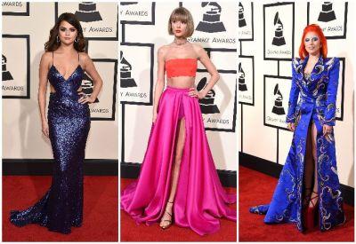 Premiie Grammy 2016. Cele mai frumoase imagini de pe covorul rosu: vedetele care au atras atentia cu tinutele lor