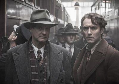 Festivalul de Film de la Berlin 2016. Colin Firth si Jude Law prezinta  Genius , un film despre editorul care i-a descoperit pe Hemingway si Fitzgerald