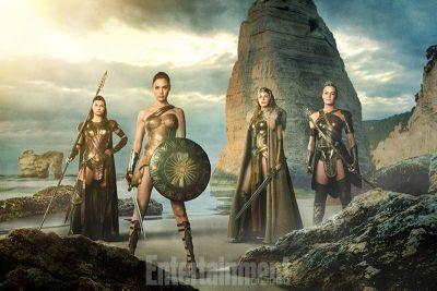 Razboinicele care o vor antrena pe Diana Prince sa devina Wonder Woman: prima imagine a fost lansata. FOTO