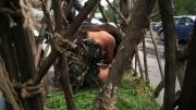 """Aylin Cadir, """"salbatica"""" plimbata in cusca prin centrul Capitalei. """"Tudo"""", un altfel de film romanesc, din 13 mai, la cinema"""