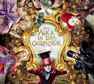 """""""Alice In Tara Oglinzilor"""", un efort de productie supraomenesc. Secretele filmului cu Johnny Depp si Mia Wasikowska"""