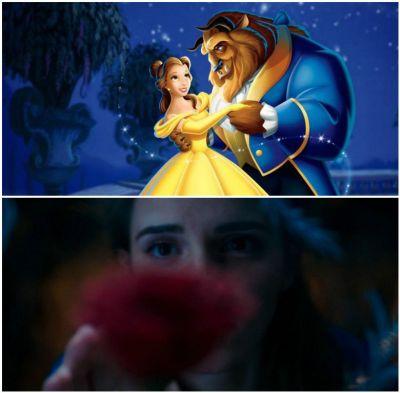 """Trailerul pentru """"The Beauty and The Beast"""" a facut record de vizualizari: 92 de milioane de vizualizari in 24 de ore. Primele imagini cu Emma Watson in rolul Bellei"""