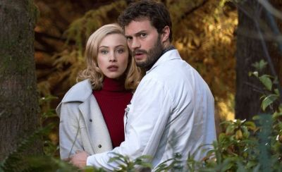 Jamie Dornan, scene sexy intr-un nou film nerecomandat minorilor. Vezi trailerul de la  The 9th life of Louis Drax, in care joaca si Aaron Paul