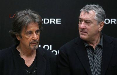 """Pacino si De Niro, ca in vremurile bune. Cei doi titani ai cinematografiei se intalnesc pentru o proiectie speciala a filmului """"Heat"""""""
