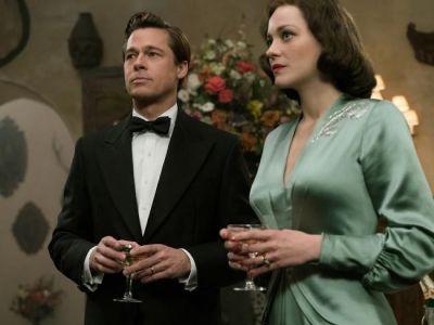 """Trailer pentru """"Allied"""": Marion Cotillard si Brad Pitt traiesc o poveste de dragoste in timpul razboiului. Scenele in care apar cei doi"""