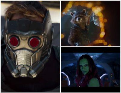 Gasca intergalatica se intoarce: primul trailer complet pentru Guardians of The Galaxy. Imaginile spectaculoase cu Star Lord si Gomora