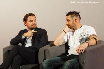 Tom Hardy a pierdut un pariu urat cu Leonardo DiCaprio si trebuie sa-si faca un anumit tatuaj:  Nu l-am facut inca, pentru ca e nasol