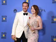 GLOBURILE DE AUR 2017.  La La Land , cel mai premiat film din istoria galei, cu 7 trofee,  Moonlight , cea mai buna drama. Lista castigatorilor