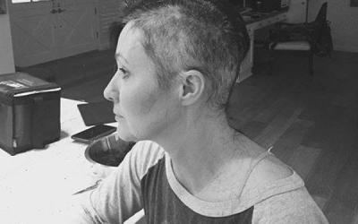 Primele imagini cu Shannen Doherty, la o saptamana de la terminarea tratamentului. Actrita arata mult mai bine. FOTO