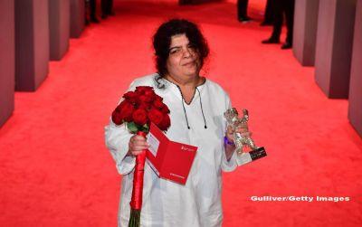 Berlinala 2017. Romanca Dana Bunescu a luat Ursul de Argint pentru realizari artistice si tehnice deosebite, pentru montajul filmului  Ana, mon amour