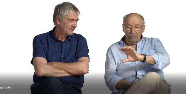 Victor Rebengiuc si Marcel Iures, dialog de poveste cu amintiri din copilarie