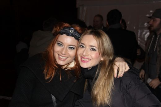 Laura Cosoi si iubitul ei, Smiley au trecut in noul an sub un superb foc de artificii