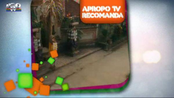 Apropo Tv recomanda: filmul Mananca, roaga-te, iubeste!