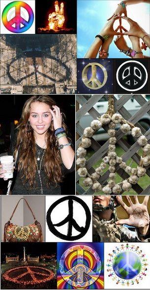 Semnul pacii - cel mai impresionant simbol de pe glob FOTO