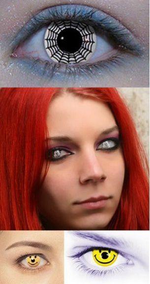 Cele mai bizare lentile de contact FOTO