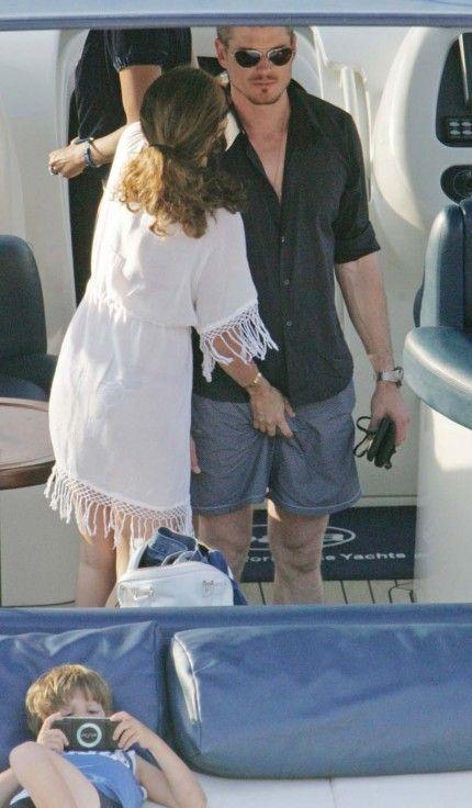 Eric Dane si Rebecca Gayheart