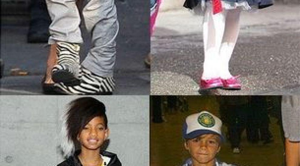 Top 10 cei mai bine imbracati copii de vedete! GALERIE FOTO