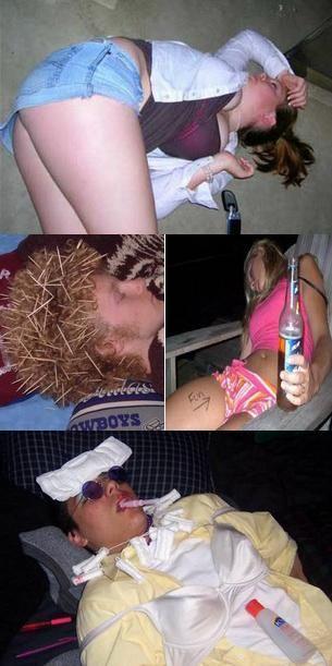 Situatii comice in care ajung oamenii la betie! FOTO