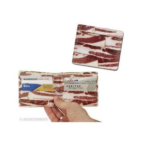 Portofel in forma de bacon