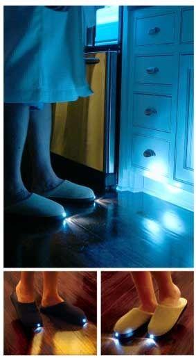 Papuci de casa luminosi