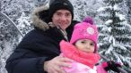 Catalin Radu Tanase a invatat-o pe fiica lui, Carina, sa schieze! FOTO