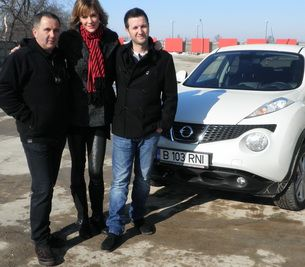 Andi Moisescu se rastoarna cu masina la Pro Motor