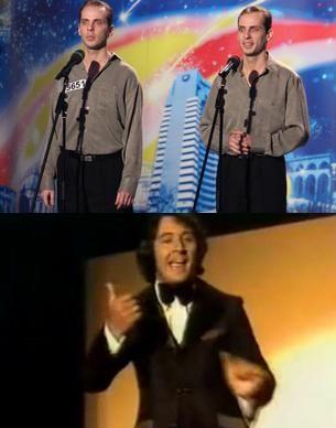 "Gemenii Paunescu versus Tony Christie! Cine canta mai bine ""Amarillo""? VIDEO"