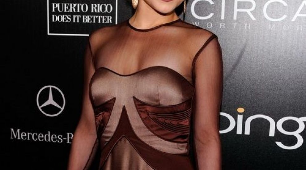 Hayden Panettiere, imbracata ca o baba la Gala Hollywood Domino! FOTO