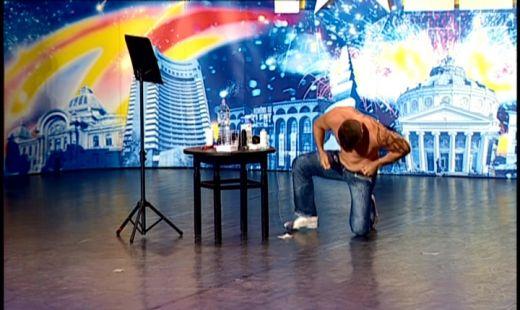 Fachiru a ingrozit juriul de la Romanii Au Talent cu talentele lui! FOTO