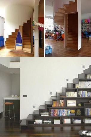 Scari ingenioase pentru case de vis! FOTO
