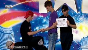 """3 Style Crew, un breakdance cu momente originale la """"Romanii au talent"""""""