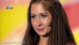 Ana Maria Balaceanu a speriat juriul interpretand foarte convingator un blestem
