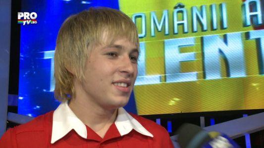 """Stefan Florescu: """"Nu am nicio idee ce voi prezenta in finala, nu ma asteptam"""""""