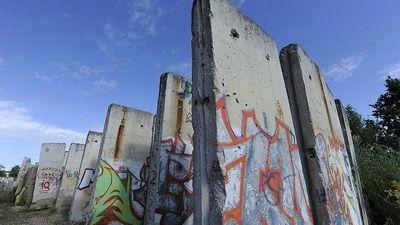 Imaginea zilei: Ramasite din Zidul Berlinului