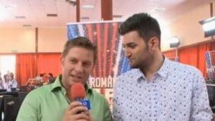 """Caravana """"Romanii au talent"""" a ajuns la Timisoara. Smiley si Bartos iti spun care este atmosfera. VIDEO"""