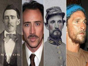 7 poze uimitoare ale unor actori celebri care au aflat ca  au trait  in secolul al XIX-lea. John Travolta si Nicolas Cage nu sunt singurii