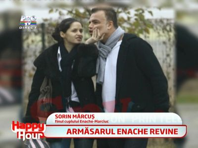 Adrian Enache a fost surprins inseland-o pe Iuliana Marciuc!