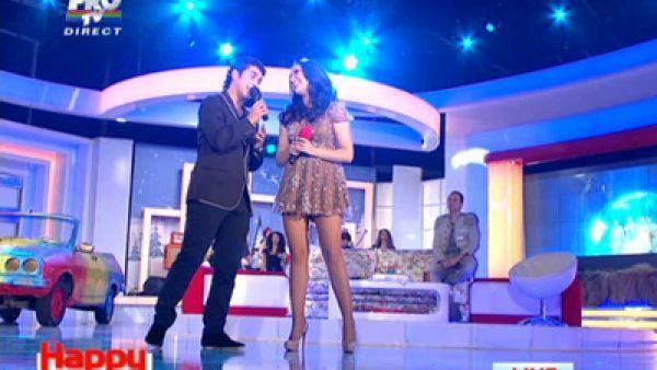 VIDEO. Vezi aici duetul anului: Andra si Valentin Dinu canta  I believe I can fly