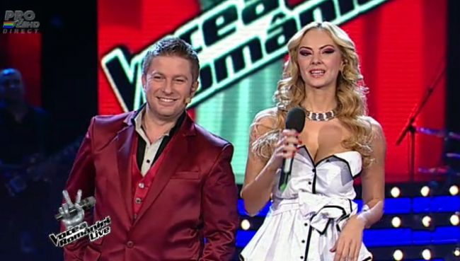 Smiley si Horia Brenciu canta in duet cu echipele lor la Vocea Romaniei