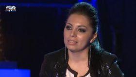 Interviu cu Irina Tanase, inainte de semifinala de la Vocea Romaniei