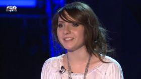 Interviu cu Iuliana Puschila, inainte de semifinala de la Vocea Romaniei